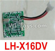 Lead Honor LH-X16 X16C X16WF X16DV Spare Parts-40 Circuit board,Receiver board(Can only be used for LH-X16DV),Lead Honor LH-X16 X16C X16DV X16WF RC Quadcopter Drone Spare Parts Accessories,LH-X16 Replacement parts