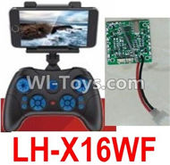 Lead Honor LH-X16 X16C X16WF X16DV Spare Parts-42 Transmitter(Not include the Mobile phone) & Circuit board,Receiver board(Can only be used for LH-X16WF Quadcopter),Lead Honor LH-X16 X16C X16DV X16WF RC Quadcopter Drone Spare Parts Accessories,LH-X16 Repl