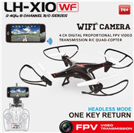 Lead Honor LH-X10WF Quadcopter-Option 3Include the 2,000,000 Pixels camera Unit,Also include the WIFI FPV REAL TIME Function)