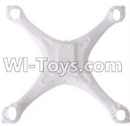 LH-X6 X6C X6DV Parts -03 Bottom shell cover,Upper canopy For Lead Honor Quadcopter rc drone parts