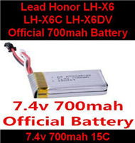 LH-X6 X6C X6DV Parts -16 Official 7.4v 700mah battery For Lead Honor Quadcopter rc drone parts