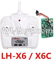 LH-X6 X6C Parts -22 LH-X6 X6C Transmitter and Circuit board For Lead Honor Quadcopter rc drone parts