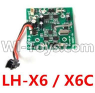 LH-X6 X6C Parts -25 LH-X6 X6C X6DV Circuit board,Receiver board For Lead Honor Quadcopter rc drone parts