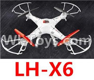 LH-X6 Parts -31 LH-X6 BNF(Only the Whole LH-X6 Quadcopter,No battery,NO Transmitter,No charger) For Lead Honor Quadcopter rc drone parts
