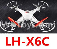 LH-X6C Parts -32 LH-X6C BNF(Only the Whole LH-X6c Quadcopter,include the camera unit,No battery,NO Transmitter,No charger) For Lead Honor Quadcopter rc drone parts