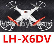 LH-X6DV Parts -33 LH-X6DV BNF(Only the Whole LH-X6DV Quadcopter,include the camera unit,No battery,NO Transmitter,No charger) For Lead Honor Quadcopter rc drone parts
