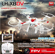 Lead Honor LH-X8DV Quadcopter -Option 3((Include the HD 2,000,000 Pixels camera,Also include the FPV Real time camera video Transmission receiver screen Parts)