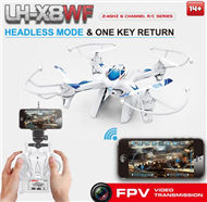 Lead Honor LH-X8WF Quadcopter -Option 4(Include the HD 2,000,000 Pixels camera,WIFI FPV Real time Function,Not include the mobiel phone)