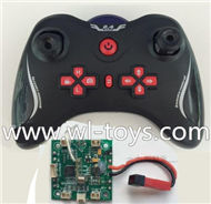 Lishitoys L6036 RC Quadcopter Parts-21 Transmitter & Circuit board