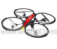 Lishitoys L6036 RC Quadcopter Parts-44 BNF(Only Quadcopter,No battery,No transmitter,No charger)