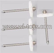 MJX X101 RC Quadcopter Parts-06 Main gear with hollow pipe(4pcs)