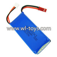 MJX X101 RC Quadcopter Parts-11 Official 7.4v 1200mah battery-Size-65x30x17mm(65g)