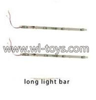 MJX X101 RC Quadcopter Parts-34 Long light bar(2pcs)