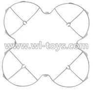 MJX X300 X300C RC Quadcopter parts-04 Outer protect frame-White