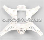 MJX X300 X300C RC Quadcopter parts-08 Bottom shell cover,Bottom canopy-White