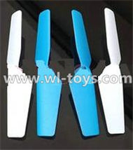 MJX X300 X300C RC Quadcopter parts-17 Main rotor blades,Propellers(4pcs)-2pcs Blue And 2pcs White
