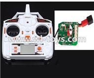 MJX X300 X300C RC Quadcopter parts-38 Transmitter & Circuit board