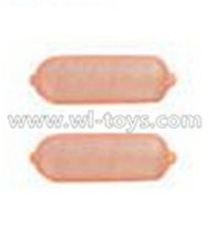 MJX X500 RC Quadcopter parts-47 Light cover for the Rear light(2pcs)