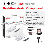 MJX X500 RC Quadcopter parts-60 MJX C4006 FPV Real-time Aerial Camera Componets (Suit for MJX T64,T10,T55,T57,X400,X500,X600,X800)