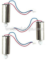 MJX X600 RC Quadcopter parts-23 rotating Motor with red and Blue wire(3pcs)