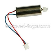 MJX X600 RC Quadcopter parts-25 rotating Motor with red and Blue wire(1pcs)