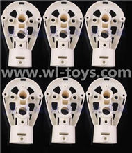 MJX X600 RC Quadcopter parts-33 Motor seat(6pcs)-White