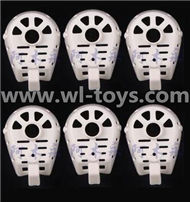 MJX X600 RC Quadcopter parts-34 Cover for the Motor seat(6pcs)-White