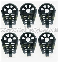 MJX X600 RC Quadcopter parts-39 Cover for the Motor seat(6pcs)-Black