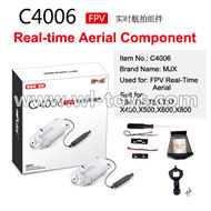 MJX X600 RC Quadcopter parts-55 MJX C4006 FPV Real-time Aerial Camera Componets (Suit for MJX T64,T10,T55,T57,X400,X500,X600,X800)