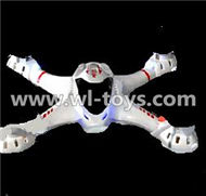MJX X701 RC Quadcopter parts-07 Upper shell cover,Upper canopy-White