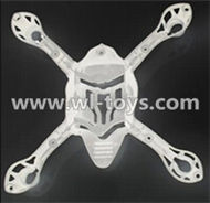 MJX X701 RC Quadcopter parts-08 Bottom shell cover,Bottom canopy-White