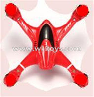 MJX X701 RC Quadcopter parts-12 Upper shell cover,Upper canopy-Red