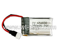 MJX X701 RC Quadcopter parts-19 Official 3.7v 250mah Battery for MJX X701
