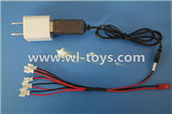 MJX X701 RC Quadcopter parts-27 USB-TO-socket Conversion plug & USB & 1-to-5 Cable ((Not include the 5 battery)