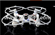 MJX X701 RC Quadcopter parts-36 BNF-White(Only the X701 Quadcopter,No battery,No transmtter,No charger)