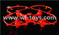 MJX X701 RC Quadcopter parts-38 BNF-Red(Only the X701 Quadcopter,No battery,No transmtter,No charger)