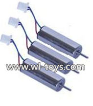 MJX X800 RC Quadcopter Parts-18 Rotating Motor with red and Blue wire(3pcs)