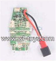 MJX X800 RC Quadcopter Parts-38 Circuit board,Receiver board