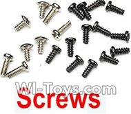 MJX X909T X909 Spare Parts-12 Screws Set,MJX X909T X909-T RC Quadcopter Drone Spare Parts Replacement Accessories