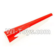 Wltoys F929 parts Tail Upper foam cover,Tail cover. WLtoys F929 RC AirPlane parts RC Fixed Wing Plane parts