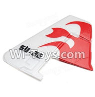Wltoys F929 parts Verticall tail wing,Verticall Balance empennage. WLtoys F929 RC AirPlane parts RC Fixed Wing Plane parts