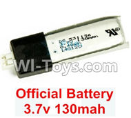 Wltoys F929 parts Official 3.7v 130mah Lipo Battery(1pcs). WLtoys F929 RC AirPlane parts RC Fixed Wing Plane parts