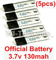 Wltoys F929 RC Battery Packs. 3.7v 130mah Lipo Battery(5pcs). WLtoys F929 RC AirPlane parts RC Fixed Wing Plane parts