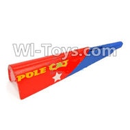 Wltoys F939 parts Tail Upper foam cover,Tail cover. WLtoys F939 RC AirPlane Parts RC Fixed Wing Plane parts.