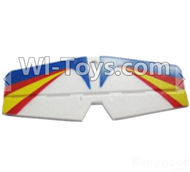 Wltoys F939 parts Horizontal tail wing,Horizontal,Balance empennage. WLtoys F939 RC AirPlane Parts RC Fixed Wing Plane parts.