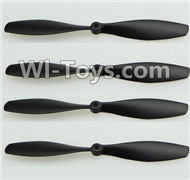 Wltoys F939 parts Propeller,Rotor blades(4pcs). WLtoys F939 RC AirPlane Parts RC Fixed Wing Plane parts.