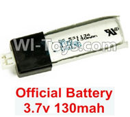 Wltoys F939 Battery Parts. 3.7v 130mah Lipo Battery. Total 1pcs. WLtoys F939 RC AirPlane Parts RC Fixed Wing Plane parts.