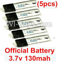 Wltoys F939 parts Lipo Battery Parts. 3.7v 130mah Lipo Battery. Total 5pcs. WLtoys F939 RC AirPlane Parts RC Fixed Wing Plane parts.