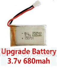 Wltoys F949 Upgrade Battery Packs.Lipo Battery 3.7v 680mah battery. Total 1pcs. Fly more time,more power For WL Toys F949 Cessna 182 RC Plane