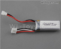 Wltoys F959 Parts Battery Packs,F959-10, F959 liPo Battery,7.4v 300mah RC Battery Packs,Total 1pcs.